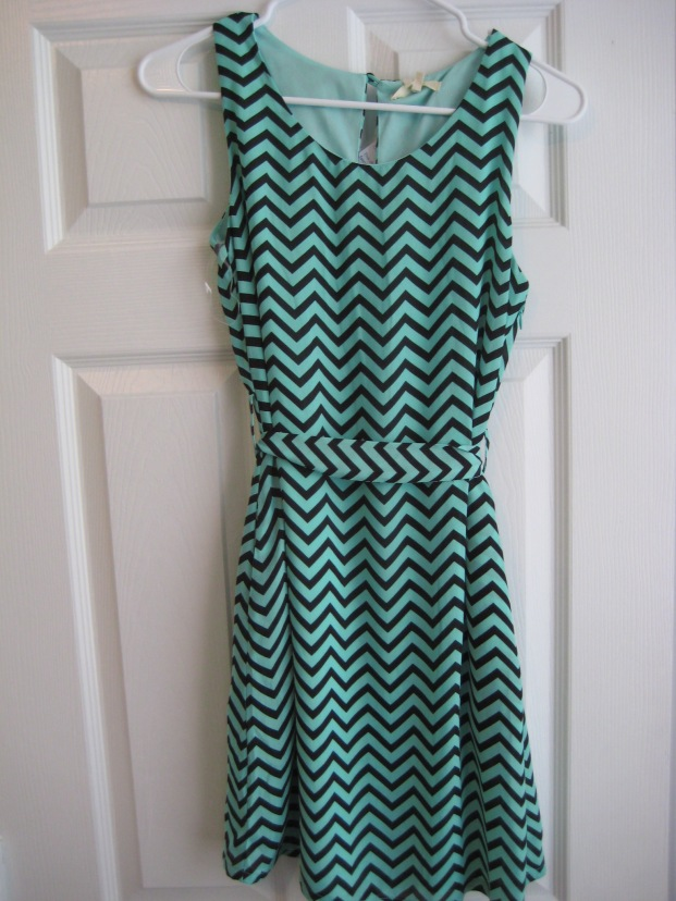 Chevron Dress by Tulle