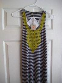 Striped Maxi Dress by THML