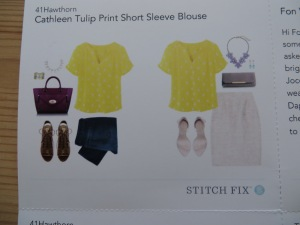 Stitch Fix Review: April 2014